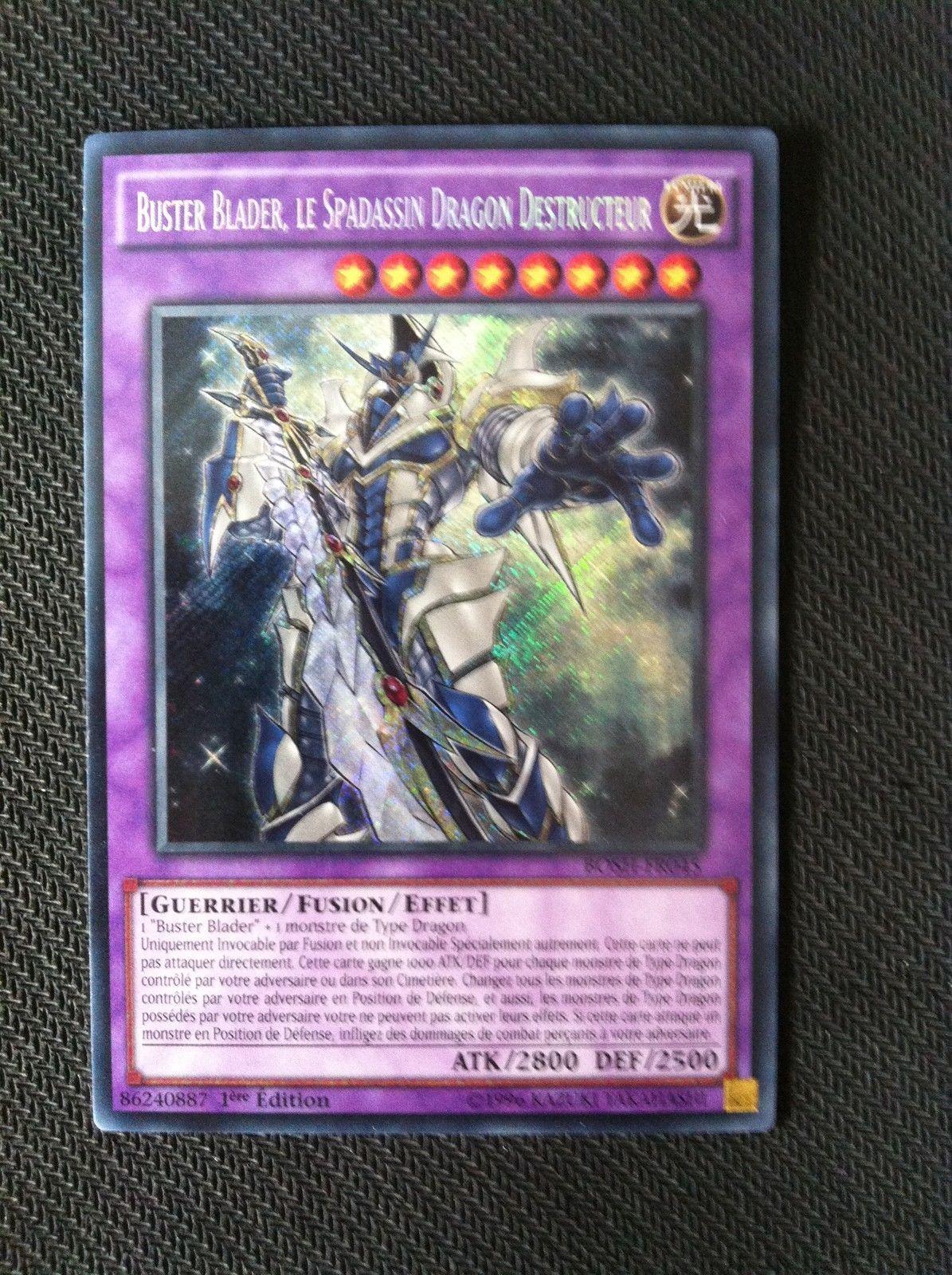 Buster Blader le Spadassin Dragon Destructeur Yu-Gi-Oh R MAGO-FR101 Neuf