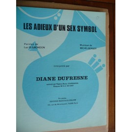 Les adieux d'un sex symbol Diane Dufresne