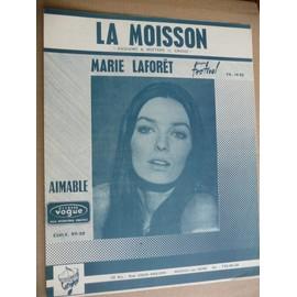 LA MOISSON Marie Laforet