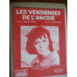 Les vendanges de l'amour  Marie Laforet