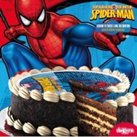 Disque En Sucre Spiderman 16 Cm Le Geant De La Fete