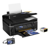 Epson Stylus Color Office BX600FW - Wifi Fax Ethernet Carte SD