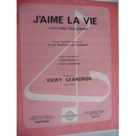 J'AIME LA VIE Vicky Leandros
