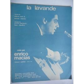 LA LAVANDE Enrico Macias