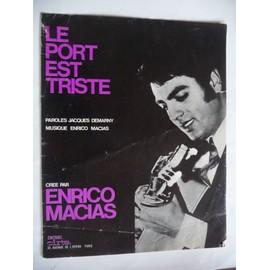 LE PORT EST TRISTE Enrico Macias