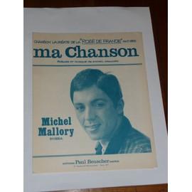 MA CHANSON Michel Mallory