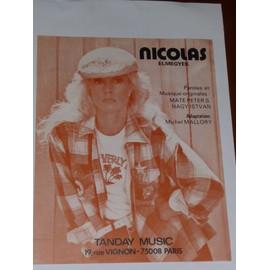 NICOLAS (elmegyek) Michel Mallory