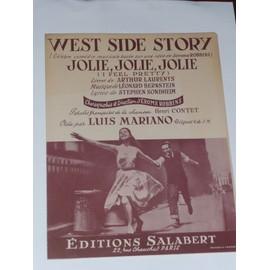 JOLIE, JOLIE, JOLIE  Luis Mariano (West Side Story)