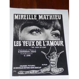 LES YEUX DE L'AMOUR Mireille Mathieu
