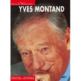 Yves Montand partitions piano chant guitare