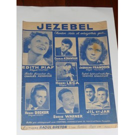 JEZEBEL Edith Piaf