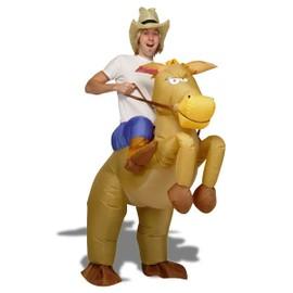 D�guisement De Cow Boy � Cheval Gonflable Costume