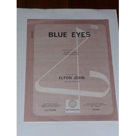 Blue Eyes Elton John