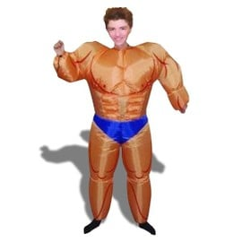 D�guisement Bodybuilder Gonflable Costume Homme Muscl�