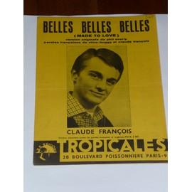 BELLES BELLES BELLES  Claude François