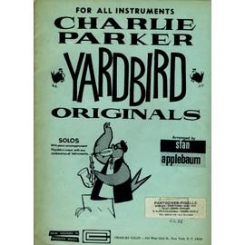 Charlie Parker Yardbirds originals Solos with accompaniment Arranged Stan Applebaum