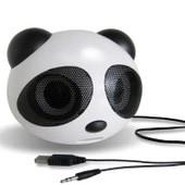 Vococal� Enceite Usb 2.0 Haut-Parleur Actif St�r�o Pour Voiture Et Ordinateur Sous Forme De Mini-Panda , Noire