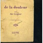 De La Douleur - 19e Edition de BOUGAUD