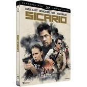 Sicario - �dition Limit�e Bo�tier Steelbook - Blu-Ray de Denis Villeneuve