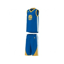 Adidas Kit Nba Warriors Stephen Curry Bleu