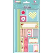 Clairefontaine - Planche De 13 Stickers Satin - Souvenirs D'enfance