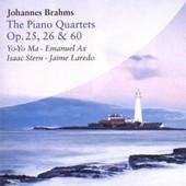 Brahms : Les Quatuors Avec Piano, Op. 25, 26 Et 60 - Yo-Yo, Ma