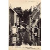 40 Montargis . - Un Bras Du Loing. Rue Du Pont-Neuf. - Ll.