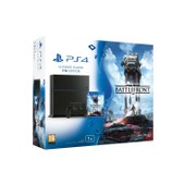 Console Playstation 4 Ps4 1 To Noire Chassis C +Jeu Star Wars Battlefront