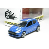 1 Voiture 1/64 Racing - Roues Mobiles - Renault Clio Rs Gordini