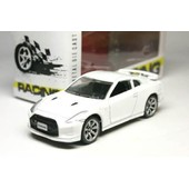 1 Voiture 1/64 Racing - Roues Mobiles - Nissan Gt-R