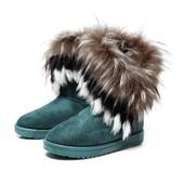 Bottine,Boots Fourr�es,Bottes Fourr�es,De Neige Femmes Chaude Fausse Fourrure