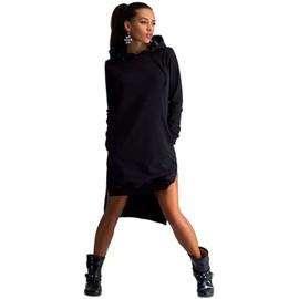 Veste Sweat Manteau Robe Sweat-Shirt Femmes � Capuche Manches Longue