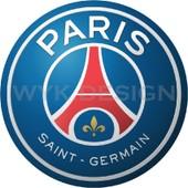 Sticker Logo Football Psg 2 Paris Saint Germain 100cm