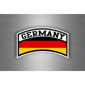 Autocollant Sticker Voiture Moto Drapeau Allemagne Allemand Aviation Militaire