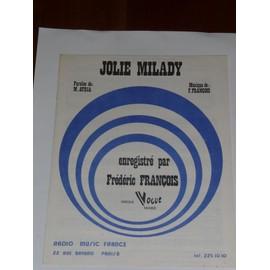 JOLIE MILADY Frédéric François