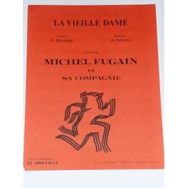 LA VIEILLE DAME michel Fugain