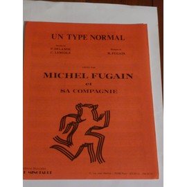 UN TYPE NORMAL Michel Fugain
