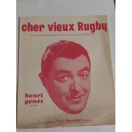CHER VIEUX RUGBY Henri Genès