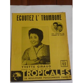 ECOUTEZ L'TROMBONE Yvette Giraud