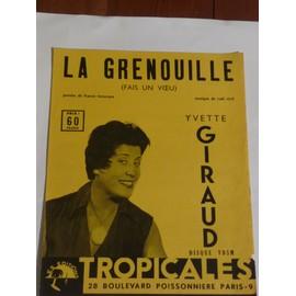 LA GRENOUILLE Yvette Giraud