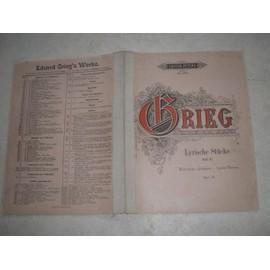 Lyrische Stücke Heft III. (morceaux lyriques). Opus 43. 8914