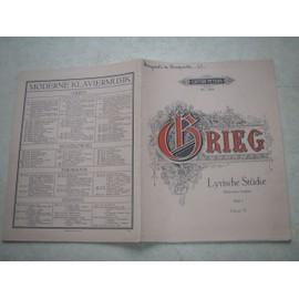 Lyrische Stücke Heft I. (morceaux lyriques). Opus 12. 8460