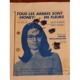 TOUS LES ARBRES SONT EN FLEURS Nana Mouskouri