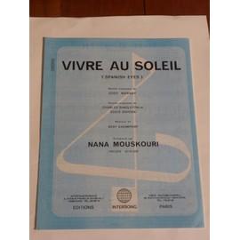 VIVRE AU SOLEIL Nana Mouskouri