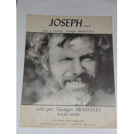 JOSEPH...Georges Moustaki