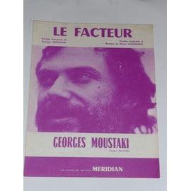 LE FACTEUR  Georges Moustaki