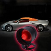1-Way Syst�me D'alarme Antivol Pour V�hicules De Protection De S�curit� + 2 T�l�commande