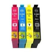 4 Cartouches 29xl Encre Epson Pour Xp-235 Fraise Compatible