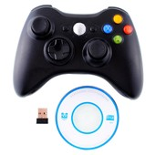 Contr�leur Wireless Gamepad Pour Ps3 Pc 360 Noir Console Pc Portable New