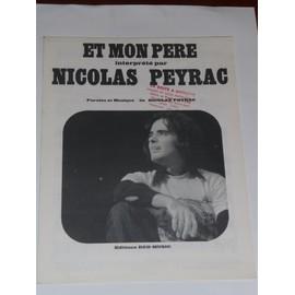 ET MON PERE Nicolas Peyrac